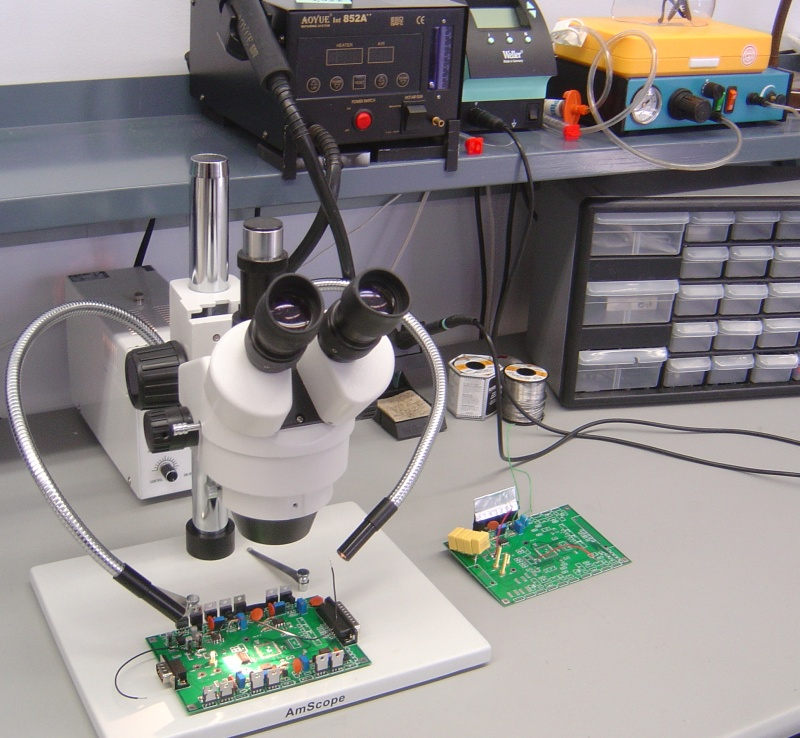 Microelectronics Assembly Workstation