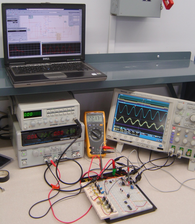 Electronics Test & Measurement Workstation